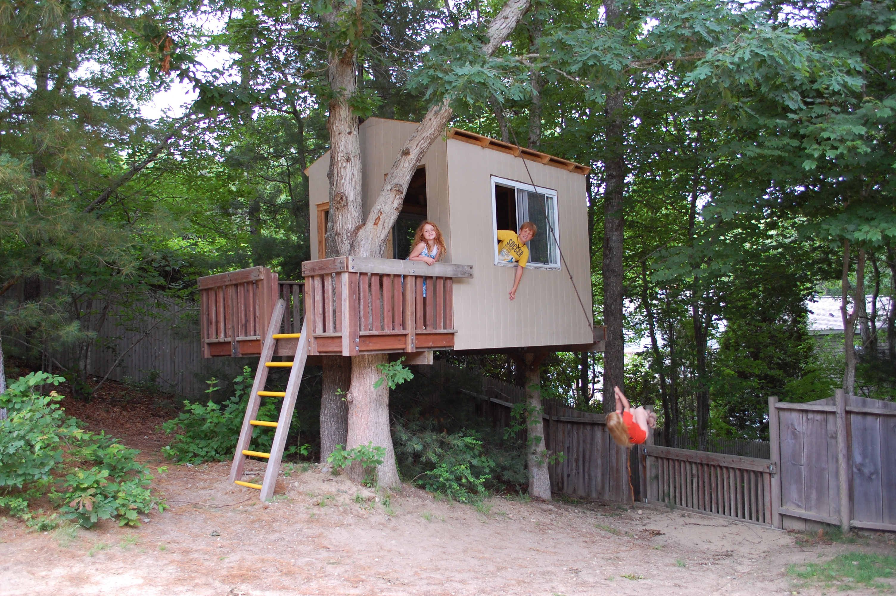 awesome tree house plans for kids ideas best image home - Cool Kids Tree House